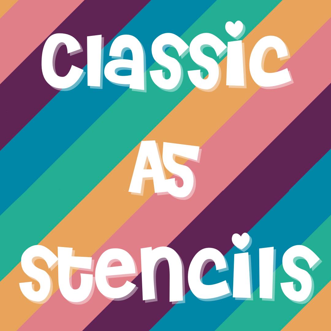 Classic A5 Stencils